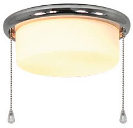 Deckenventilator-Leuchte CasaFan 15Z CH FLACHER ZYLINDER Opalglas (matt)
