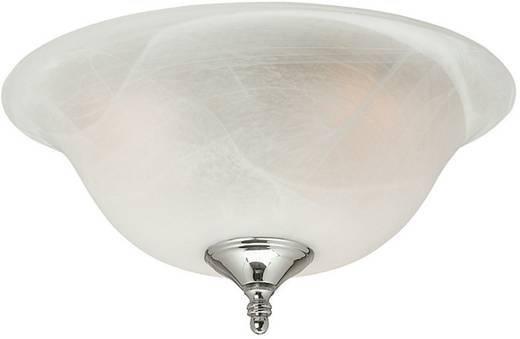 Deckenventilator-Leuchte Hunter SWIRLED MARBLE UNIVERSEEL Opalglas (marmorisiert)