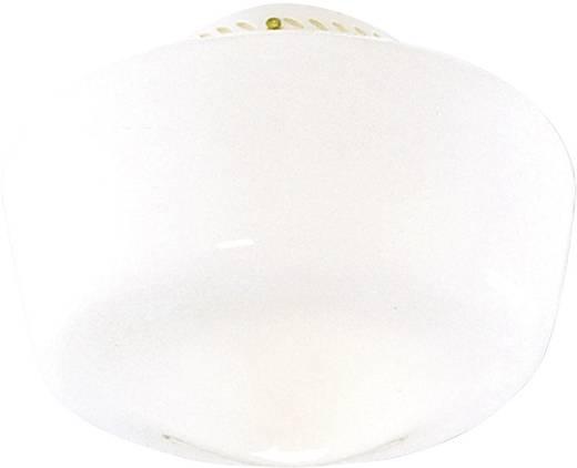 Deckenventilator-Leuchte Hunter SCHOOLHOUSE TRADIT. MP Opalglas (glänzend)