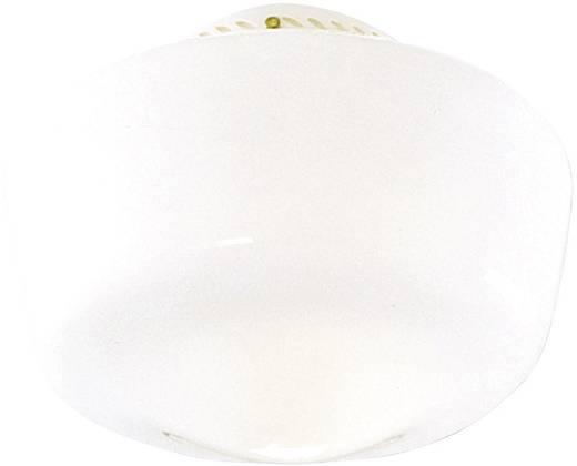 Deckenventilator-Leuchte Hunter SCHOOLHOUSE TRADIT. BR Opalglas (glänzend)