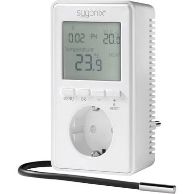 Sygonix tx.3 Raumthermostat Zwischenstecker Tagesprogramm -20 bis 70 °C Preisvergleich