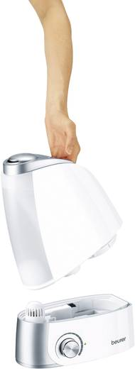 Beurer Ultraschall-Luftbefeuchter 25 m² LB 44 Weiß-Silber