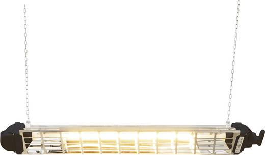Mo-el Fiore 1200 Halogen-IR-Strahler 1200 W 5 m² Schwarz