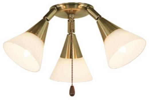 Deckenventilator-Leuchte CasaFan 16 MA 3-STRAHLER Opalglas