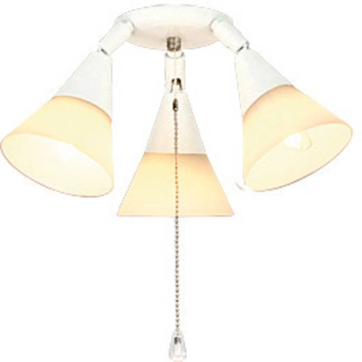 Deckenventilator-Leuchte CasaFan 16 WE 3-STRAHLER Opalglas