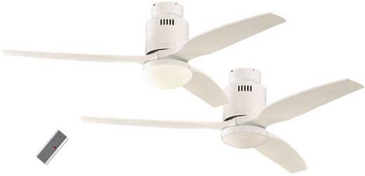 Deckenventilator CasaFan Aerodynamix (Ø) 132 cm Flügelfarbe: Weiß Gehäusefarbe: Lack-Weiß