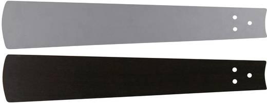 Deckenventilator-Flügelsatz CasaFan Bladen wengé/zilvergrijze lak 180 Flügeldekor: Wenge, Grau