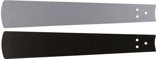 Deckenventilator-Flügelsatz CasaFan Bladen wengé/zilvergrijze lak 152 Flügeldekor: Wenge, Grau
