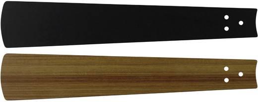 Deckenventilator-Flügelsatz CasaFan Bladen zwart/teak 180 Flügeldekor: Schwarz, Teak