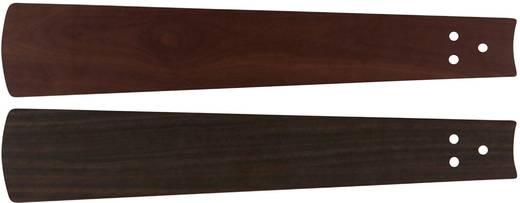 Deckenventilator-Flügelsatz CasaFan Bladen noten/kersen 132 Flügeldekor: Nussbaum, Kirsche