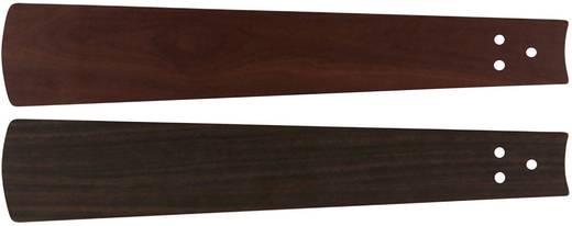 Deckenventilator-Flügelsatz CasaFan Bladen noten/kersen 152 Flügeldekor: Nussbaum, Kirsche