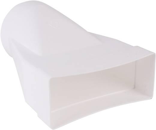 Flachkanal-Lüftungssystem 150 Übergangsstück rund/flach Wallair N15865