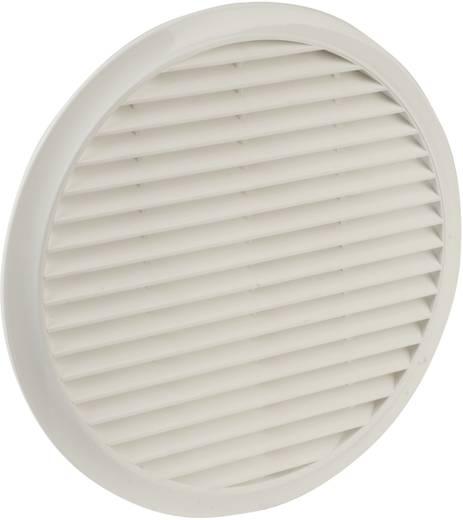 Lüftergitter Kunststoff Passend für Rohr-Durchmesser: 10 cm Wallair NW 100 Fliegennetz