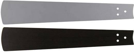 Deckenventilator-Flügelsatz CasaFan Bladen wengé/zilvergrijze lak 103 Flügeldekor: Wenge, Grau