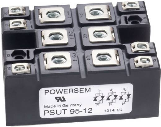 Brückengleichrichter POWERSEM PSD 95-16 Figure 6 1600 V 140 A Dreiphasig