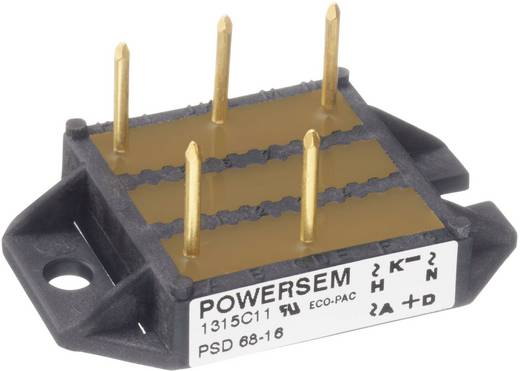 Brückengleichrichter POWERSEM PSD 28-06 Figure 3 600 V 28 A Dreiphasig