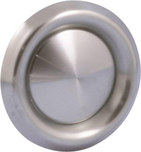 Tellerventil Edelstahl Passend für Rohr-Durchmesser: 10 cm Wallair N35922
