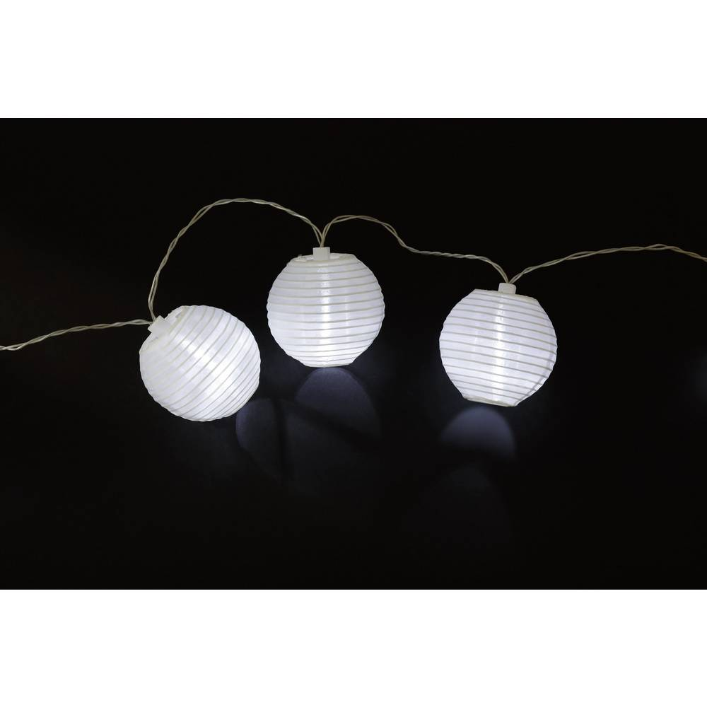 solar party lights chinese lantern outside solar powered led cold white 4 8 m 12 c130 sl im. Black Bedroom Furniture Sets. Home Design Ideas