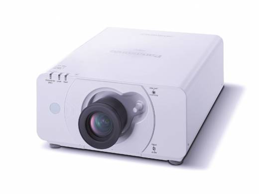 DLP Beamer Panasonic PT-DW530E Helligkeit: 4000 lm 1280 x 800 WXGA 2000 : 1 Weiß
