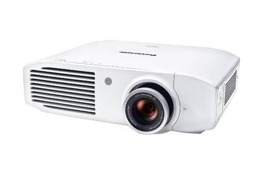 LCD Beamer Panasonic PT-AH1000E Helligkeit: 2800 lm 1920 x 1080 HDTV 50000 : 1 Weiß