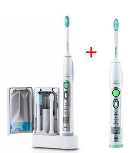 Elektrische Zahnbürste Philips Sonicare HX6932/34 FlexCare abec 2 brosses à dents Türkis, Silber, Weiß