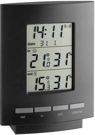 TFA Maxim II Funk-Thermo-/Hygrometer Schwarz