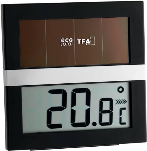 Solar Thermo-/Hygrometer TFA Eco Solar Schwarz-Silber
