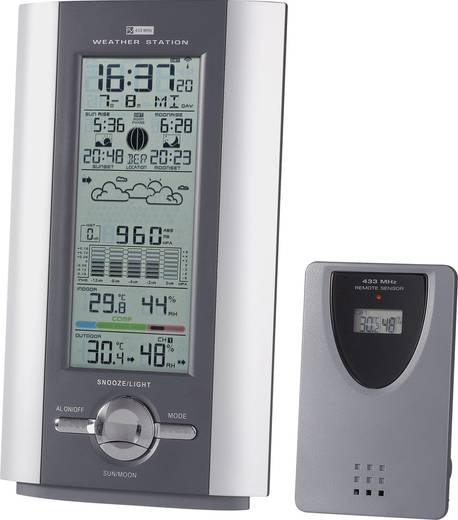 Funk-Wetterstation Funk-Wetterstation Profi KW 9005W-SM 8954c26 Vorhersage für 12 bis 24 Stunden