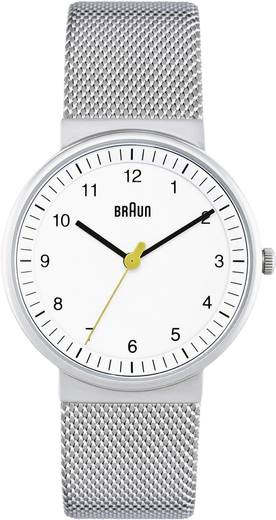 Quarz Armbanduhr BN0031WHSLMHL (Ø x H) 33 mm x 8 mm Edelstahl Gehäusematerial=Edelstahl Material (Armband)=Edelstahl Braun
