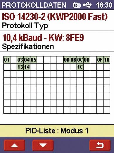 Diamex OBD II Diagnosetool Scandevil II 7101