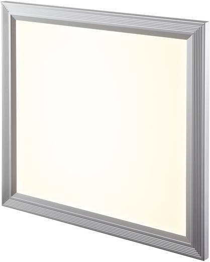LED-Panel 18 W Warm-Weiß Denia Silber-Grau