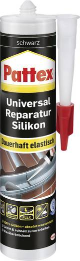 Pattex Silikon Farbe Schwarz DARKS 300 ml