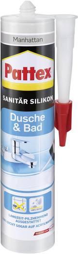 Pattex Dusche & Bad Silikon Farbe Manhatten PFDBM 300 ml
