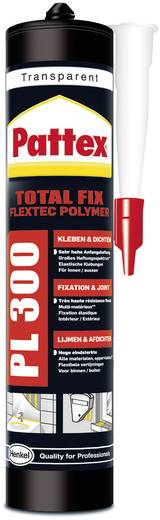 Pattex Flextec Polymeer PPL3T Montagekleber Farbe Transparent PPL3T 300 ml