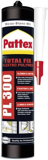Pattex Flextec polymeer Montagekleber Farbe Weiß PPL3W 410 g