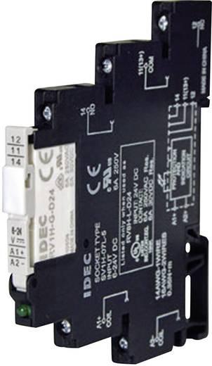Idec RV8H-L-AD12 Relaisbaustein 1 St. Nennspannung: 12 V/DC, 12 V/AC Schaltstrom (max.): 6 A 1 Wechsler