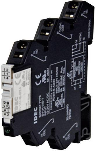 Idec RV8H-S-AD12 Relaisbaustein 1 St. Nennspannung: 12 V/DC, 12 V/AC Schaltstrom (max.): 6 A 1 Wechsler