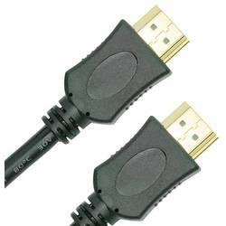 HDMI prepojovací kábel AVC 200-1,5m, 1.50 m, čierna