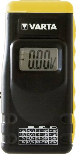 Digitální zkoušečka baterií Varta 891