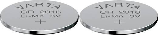 Knopfzelle CR 2016 Lithium Varta Electronics CR2016 90 mAh 3 V 2 St.
