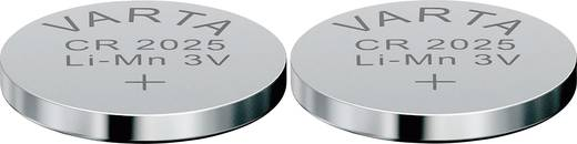 Knopfzelle CR 2025 Lithium Varta Electronics CR2025 170 mAh 3 V 2 St.