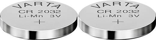 Knopfzelle CR 2032 Lithium Varta Electronics CR2032 220 mAh 3 V 2 St.