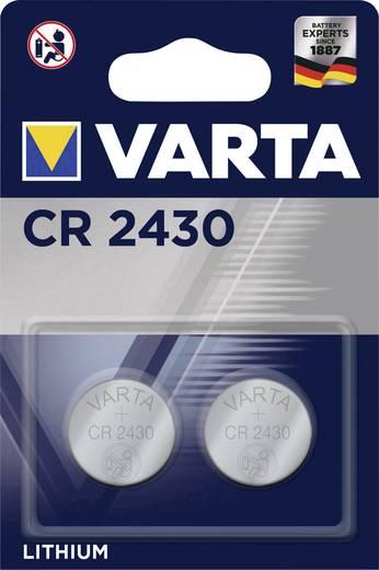 Knopfzelle CR 2430 Lithium Varta Electronics CR2430 290 mAh 3 V 2 St.