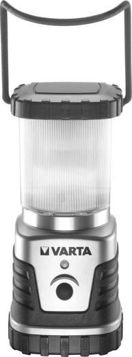 LED Camping-Laterne Varta 3D, 4 W 300 lm batteriebetrieben 830 g Silber-Schwarz 18663101111