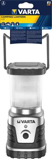 LED Camping-Laterne Varta 3D, 4 W batteriebetrieben 830 g Silber-Schwarz 18663101111