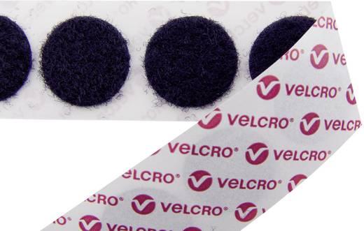 Klettpunkte zum Aufkleben Flauschteil (Ø) 15 mm Schwarz VELCRO® brand E20101533011425 1300 St.