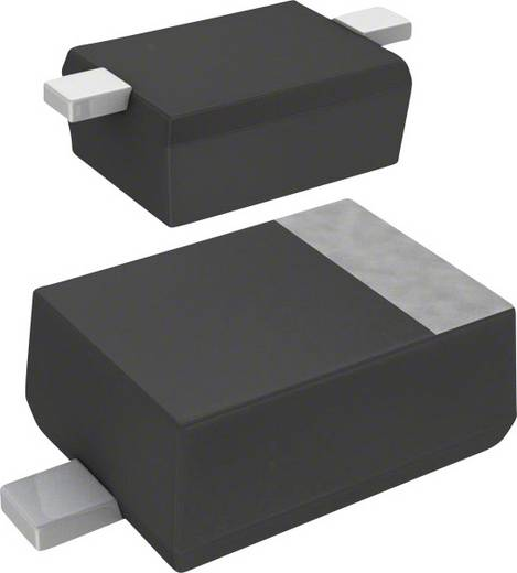Panasonic Z-Diode DZ2J06800L Gehäuseart (Halbleiter) SMini2-F5-B Zener-Spannung 6.8 V Leistung (max) P(TOT) 200 mW
