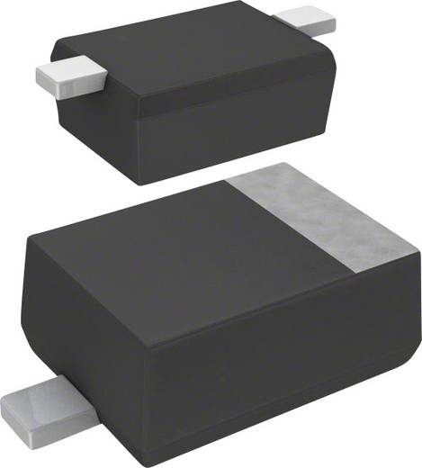 Panasonic Z-Diode DZ2J18000L Gehäuseart (Halbleiter) SMini2-F5-B Zener-Spannung 18 V Leistung (max) P(TOT) 200 mW