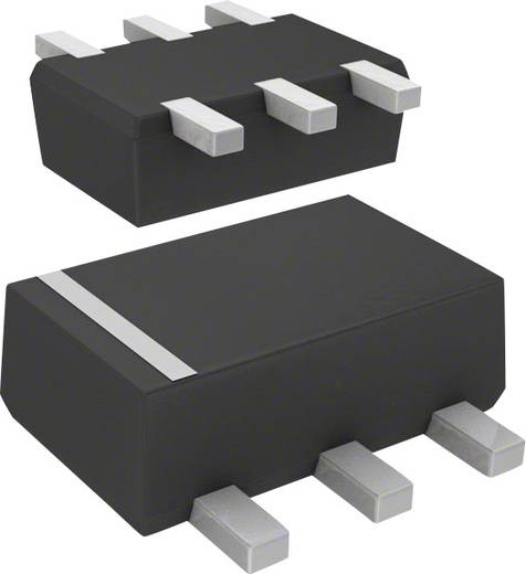 Panasonic Transistor (BJT) - Arrays, Vorspannung DMC564060R SMini6-F3-B 2 NPN - vorgespannt