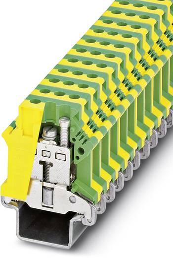 Schutzleiter-Reihenklemme USLKG16 N-1 Grün-Gelb Phoenix Contact 50 St.